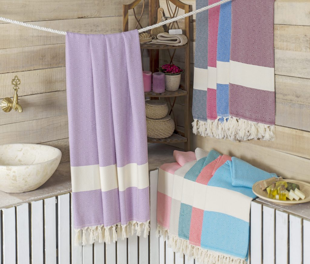 Diamond Peshtemal - Traditional Hammam Towel