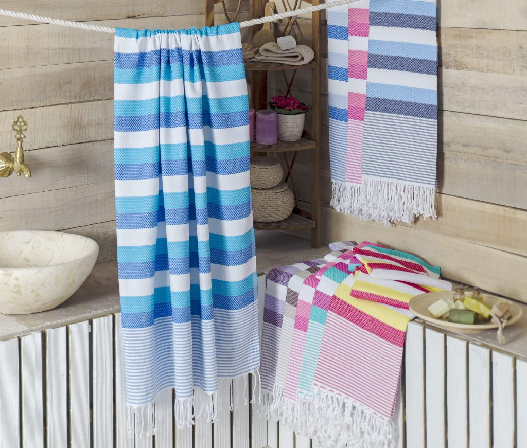 pamkkale turkish beach towel