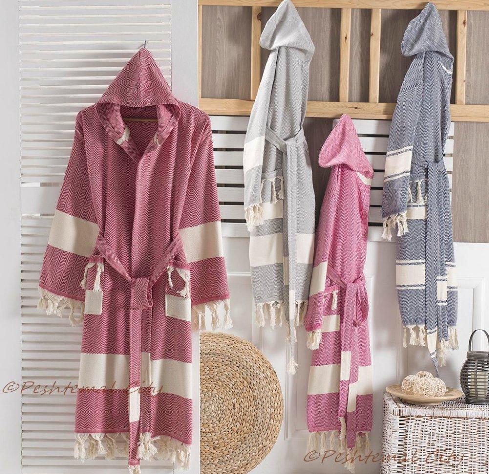 ocean bathrobe