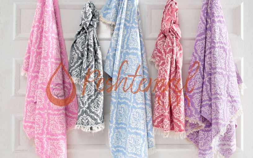 Damask Fouta Towel