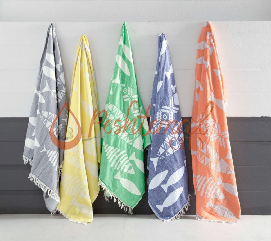 Pisces Turkish Towels