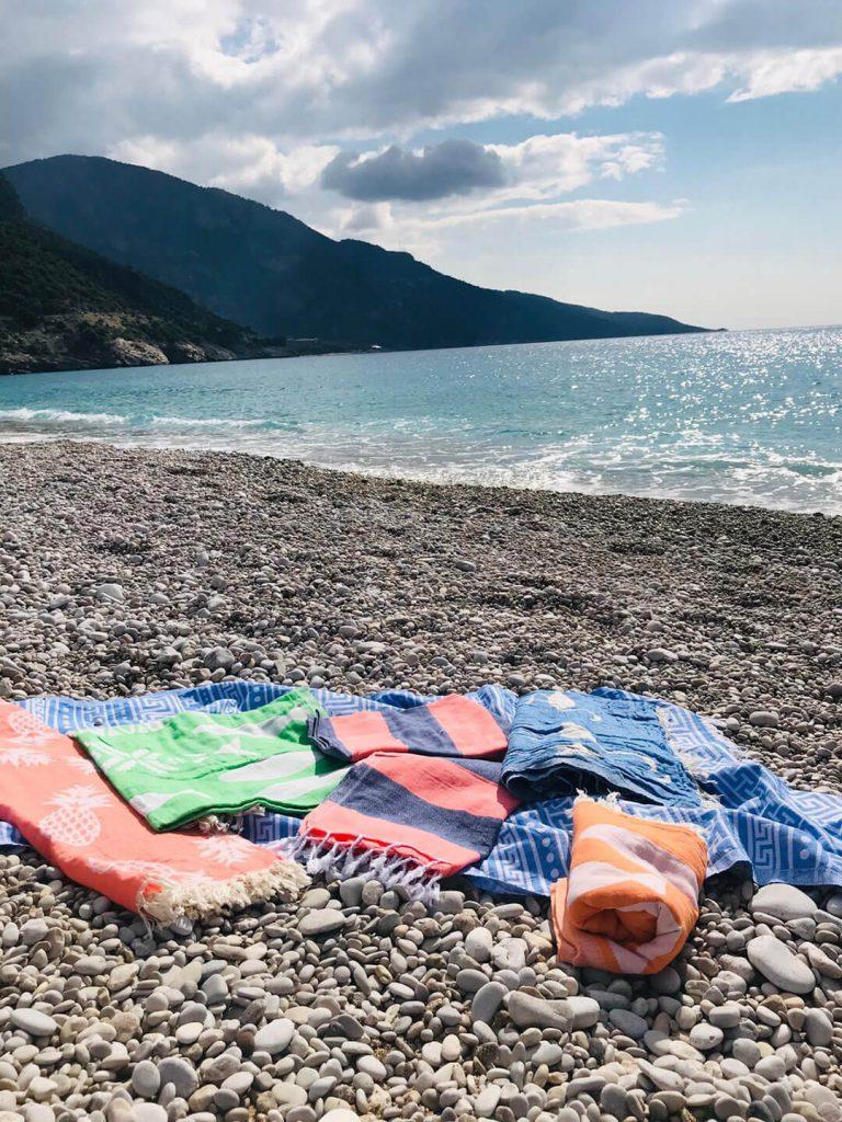 Turkish beach towels by Peshtemal City